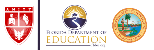 Amity College is authorized by Florida Department of Education