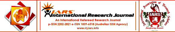 IARS' International Research Journal: Research Journal Partner